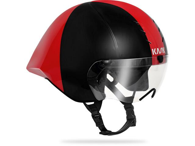 Kask Mistral Kask rowerowy, black/red